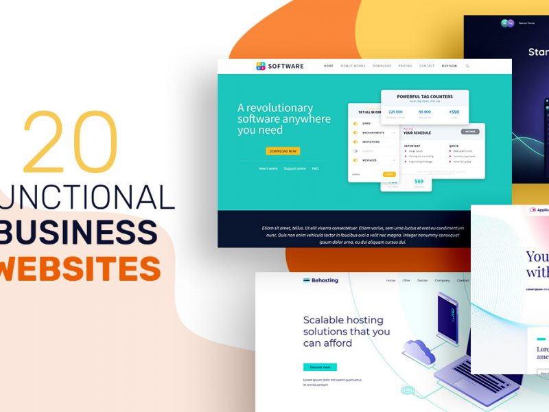 20 Functional Business Websites