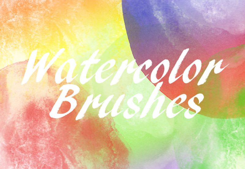 Free Photoshop Watercolor Brushes