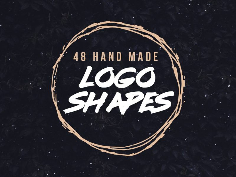 Grunge Logo Shapes