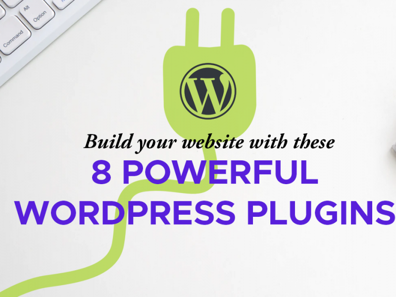 8 Wordpress Plugins