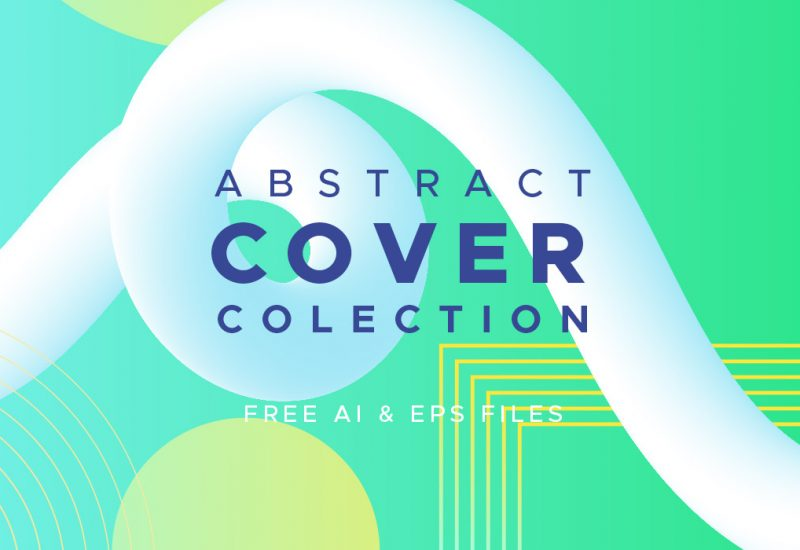 Vector Abstract Cover Collection