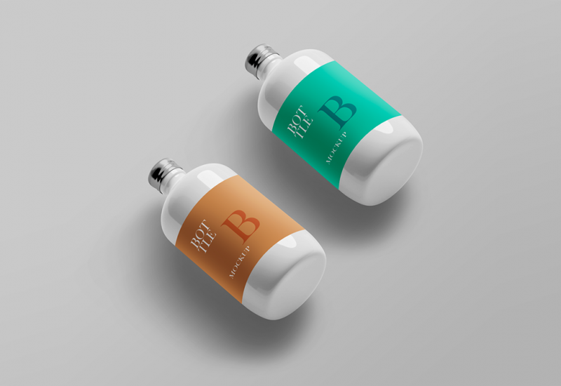 Bottle PSD Mockup Templates