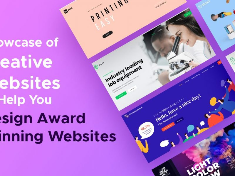 Showcase of Creative Websites