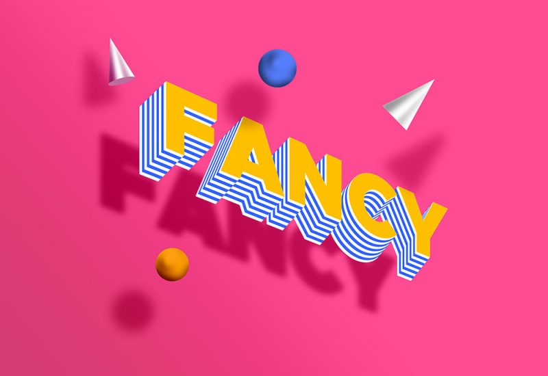 Free Fancy PSD Text Effect