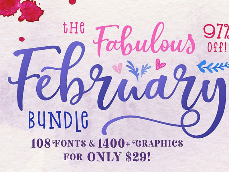 February Fabulous Bundle