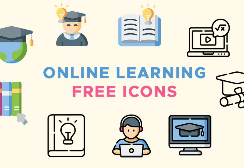 Free Online Learning Icons