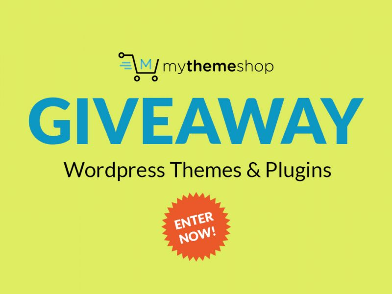 Giveaway: WP Themes & Plugins