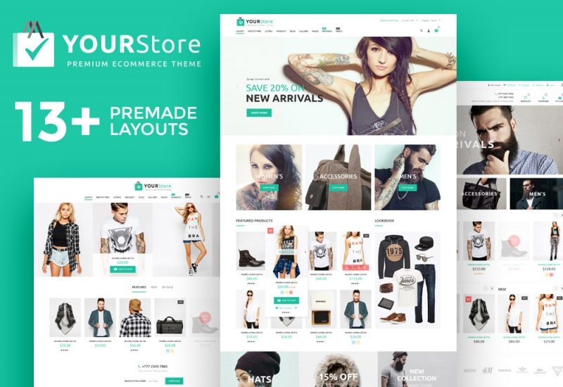 Giveaway YourStore Woocomerce theme