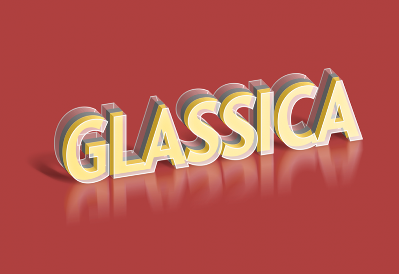 Glass PSD Text Effect