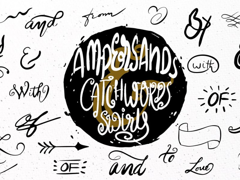 Hand drawn Vector Catchwords