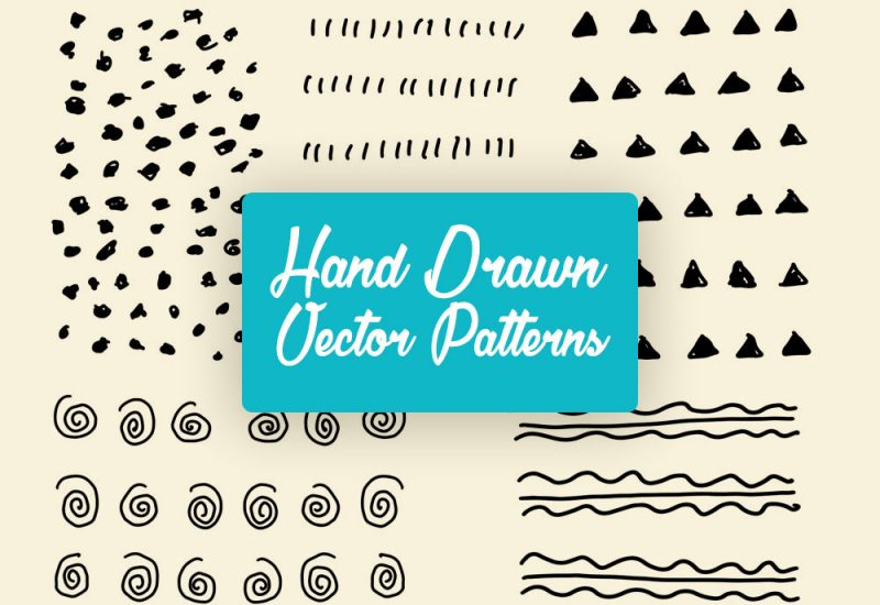 Free Handdrawn Vector Pattern