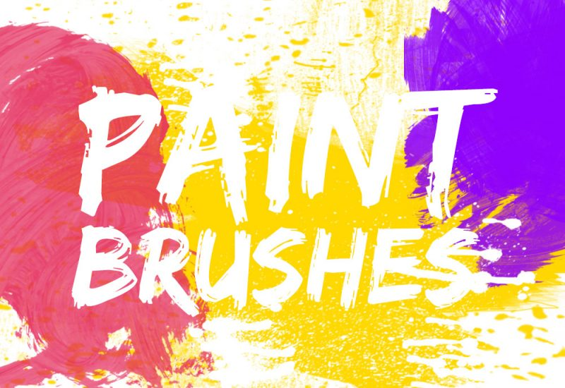 Photoshop Paint Brushes Pack