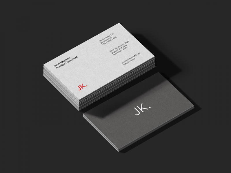 Premium Business Card PSD Mockups