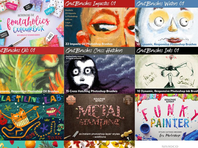 Artistic Supply Box Design Bundle