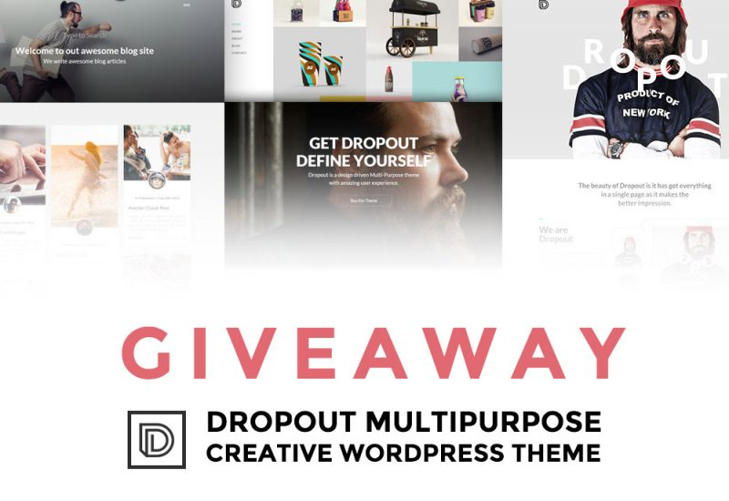 giveaway-dropuot-multipurpose-wp-theme