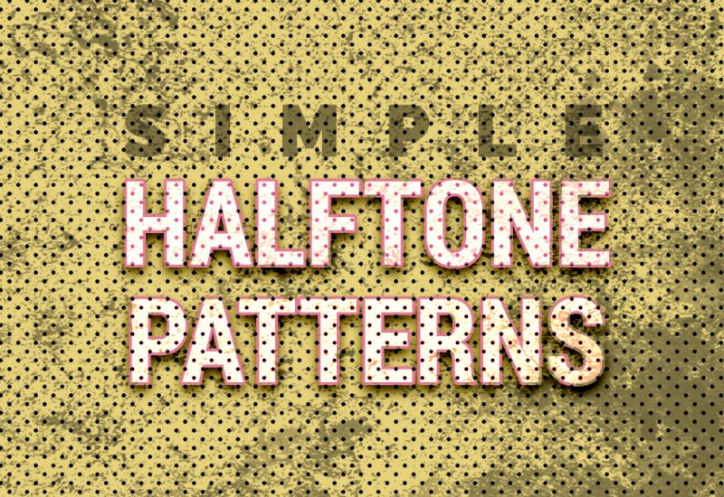 Free Halftone Patterns